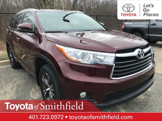 Certified Pre Owned 2016 Toyota Highlander L