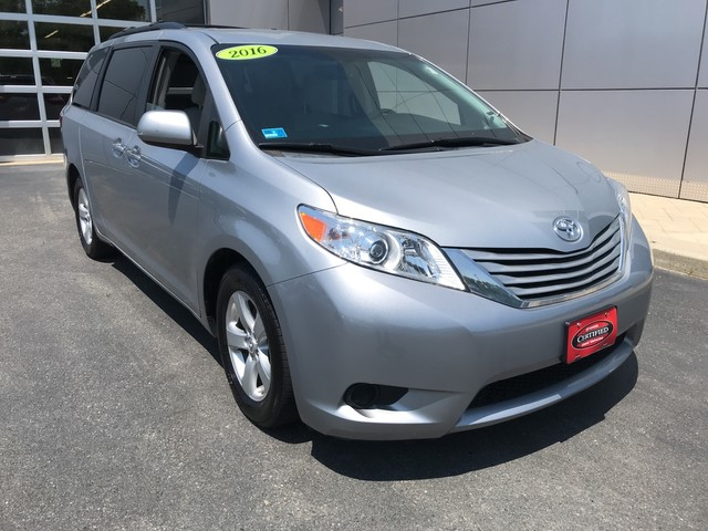 Certified Pre Owned 2016 Toyota Sienna Le