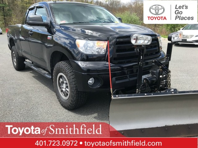 Pre-Owned 2011 Toyota Tundra 4WD Truck TRD Rock Warrior/with plow