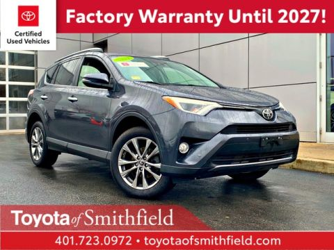 Certified Pre-Owned 2017 Toyota RAV4 Limited AWD SUV